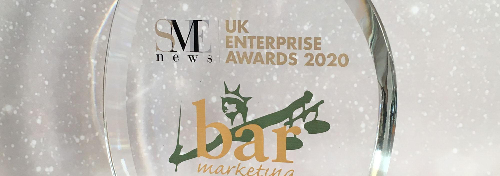SME UK Awards winner marketing agency