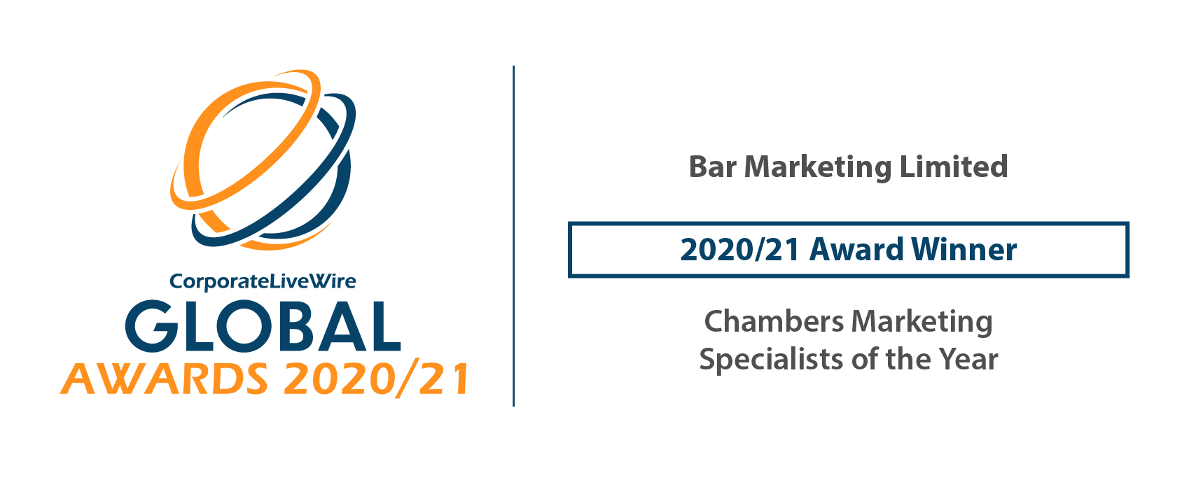Best chambers marketing - Global Awards 2020